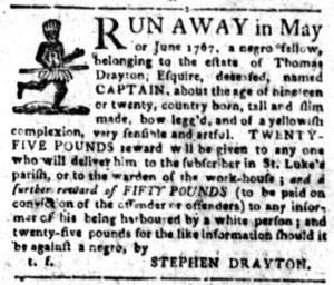 Aug 29 - South-Carolina Gazette Slavery 2