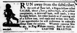 Sep 15 - Virginia Gazette Purdie and Dixon Slavery 11