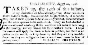 Sep 15 - Virginia Gazette Purdie and Dixon Slavery 8