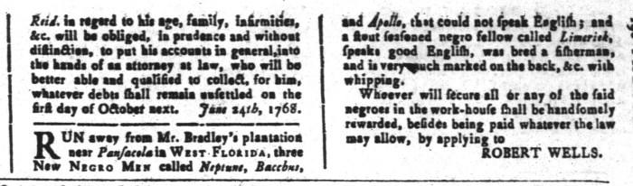 Sep 16 - South-Carolina and American General Gazette Slavery 3
