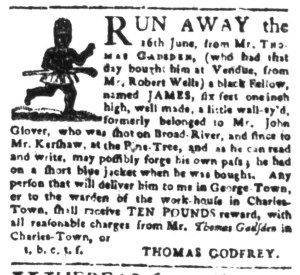 Sep 19 - South-Carolina Gazette Slavery 3