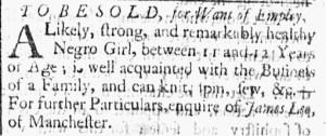Sep 20 - 9:20:1768 Essex Gazette