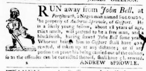 Sep 29 - Virginia Gazette Purdie and Dixon Slavery 7