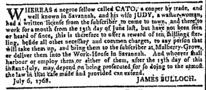 Sep 7 - Georgia Gazette Slavery 6
