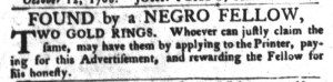 Nov 1 - South-Carolina Gazette and Country Journal Supplement Slavery 2