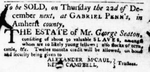 Nov 17 - Virginia Gazette Purdie and Dixon Slavery 8