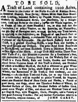 Nov 21 - New-York Gazette Weekly Post-Boy Slavery 1
