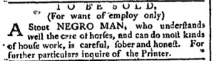 Nov 7 - Pennsylvania Chronicle Slavery 2