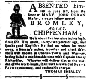 Nov 7 - South-Carolina Gazette Slavery 4