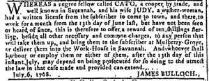 Nov 9 - Georgia Gazette Slavery 7