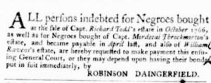 Oct 13 - Virginia Gazette Purdie and Dixon Slavery 2