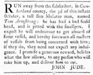 Oct 13 - Virginia Gazette Rind Slavery 2