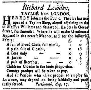 Oct 14 - 10:14:1768 New-Hampshire Gazette