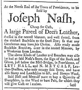 Oct 15 - 10:15:1768 Providence Gazette