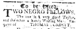 Oct 17 - South-Carolina Gazette Slavery 3