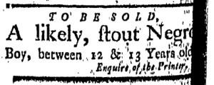 Oct 21 - New-London Gazette Slavery 2