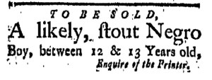 Oct 28 - New-London Gazette Slavery 2