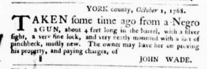 Oct 6 - Virginia Gazette Purdie and Dixon Slavery 3