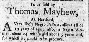 Dec 5 - Connecticut Courant Slavery 1