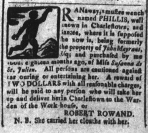 Dec 5 - South-Carolina and American General Gazette Slavery 4