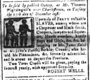 Dec 5 - South-Carolina and American General Gazette Slavery 7