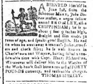 Dec 5 - South-Carolina and American General Gazette Slavery 8