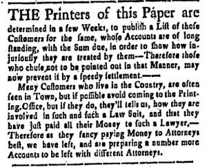 Nov 18 - 11:18:1768 New-Hampshire Gazette
