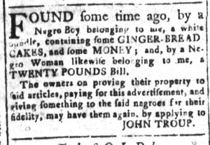 Nov 25 - South-Carolina and American General Gazette Slavery 6
