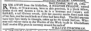 May 10 - Georgia Gazette Slavery 2
