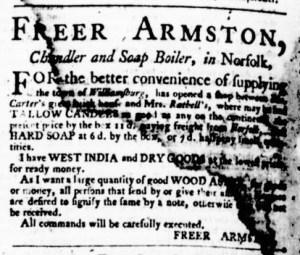 May 11 - Virginia Gazette Purdie and Dixon Slavery 6