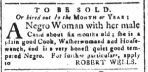 May 15 - South-Carolina and American General Gazette Slavery 3