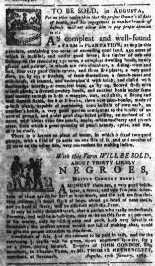 May 18 - South-Carolina Gazette Slavery 5