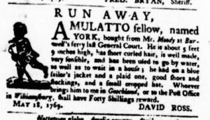 May 18 - Virginia Gazette Purdie and Dixon Slavery 3