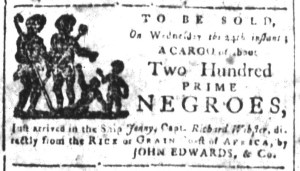 May 22 - South-Carolina and American General Gazette Slavery 5