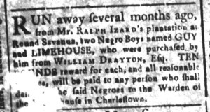 May 22 - South-Carolina and American General Gazette Slavery 7