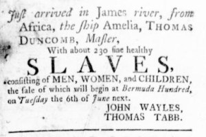 May 25 - Virginia Gazette Rind Slavery 3