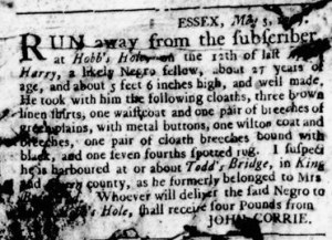 May 25 - Virginia Gazette Rind Slavery 6