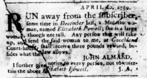 May 25 - Virginia Gazette Rind Slavery 7