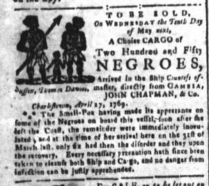 May 8 - South-Carolina and American General Gazette Slavery 3