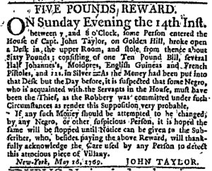 Jun 1 - New-York Journal Supplement Slavery 1