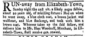 Jun 12 - New-York Gazette Weekly Mercury Supplement Slavery 3