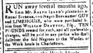 Jun 12 - South-Carolina and American General Gazette Slavery 8