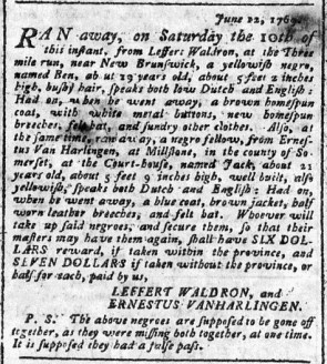 Jun 19 - Pennsylvania Chronicle Slavery 2