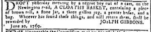 Jun 21 - Georgia Gazette Slavery 12