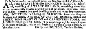 Jun 7 - Georgia Gazette Slavery 9