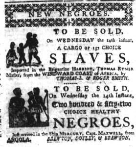 Jun 8 - South-Carolina Gazette Slavery 3
