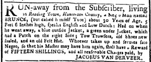 Aug 14 - New-York Gazette or Weekly Post-Boy Slavery 2