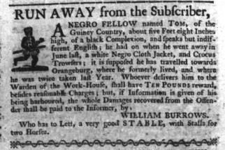 Aug 17 - South-Carolina Gazette Slavery 4