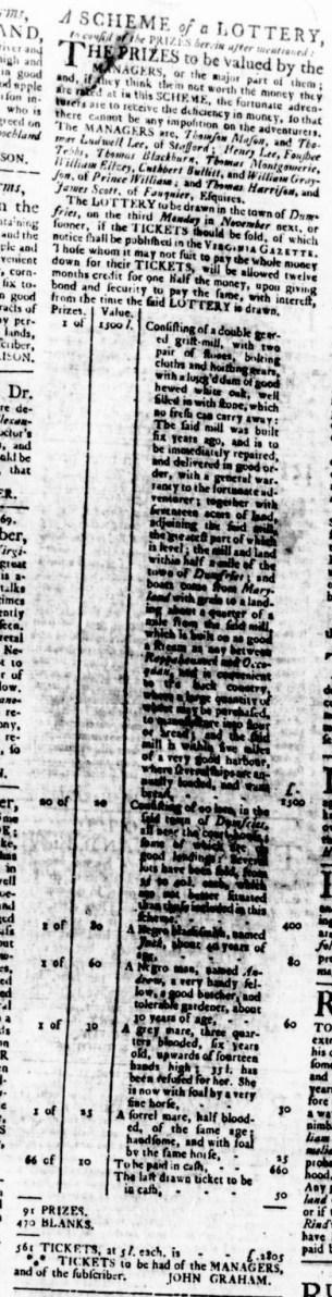Aug 17 - Virginia Gazette Rind Slavery 3