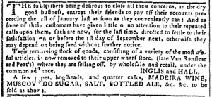 Aug 2 - 8:2:1769 Georgia Gazette